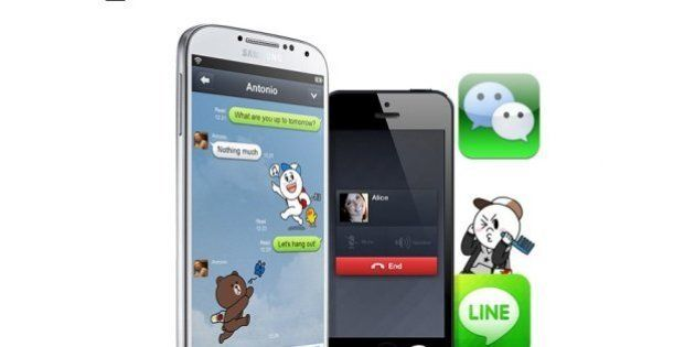 WeChat et Line en France : les réseaux sociaux asiatiques se lancent en