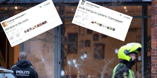 Fusillade à Copenhague: la Femen Inna Shevchenko et l'ambassadeur de France ont tweeté l'attaque de