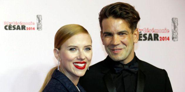 Scarlett Johansson a célébré son mariage avec Romain Dauriac en