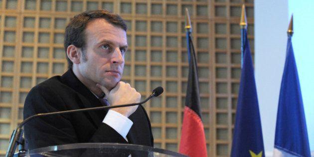 Emmanuel Macron sur le pacte de responsabilité: