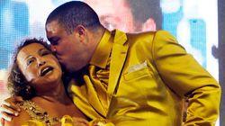 Ronaldo au carnaval de Sao Paulo en mode