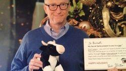 Bill Gates a offert un cadeau de Noël à une