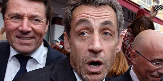 PHOTOS. À Nice, Nicolas Sarkozy, accueilli en rock-star, attaque François Fillon sur