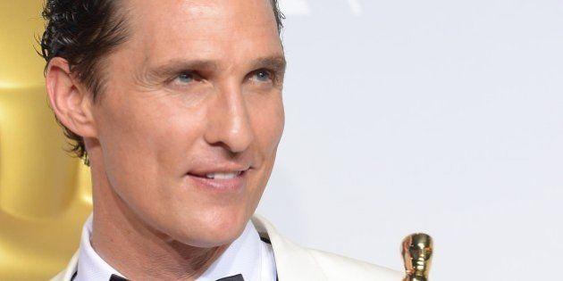 Oscars 2014 : Matthew McConaughey ou la carrière aux deux visages d'un acteur