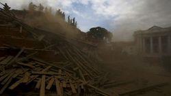 Des monuments historiques ravagés après le tremblement de terre au