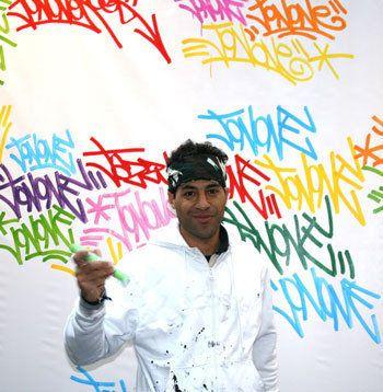 Faux tableaux: le street artist JonOne attaque Warren Levy en