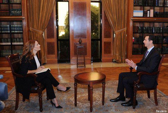 Bachar al-Assad critique l'Europe et indique que la Syrie va se conformer à la résolution de l'ONU sur...
