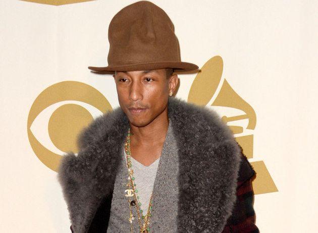 Pharrell Williams: sur eBay, son chapeau s'est vendu 32.000
