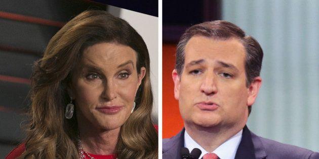 Caitlyn Jenner veut travailler pour Ted Cruz, le candidat ultra conservateur des primaires