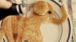 Ces pancakes mériteraient d'être exposés au