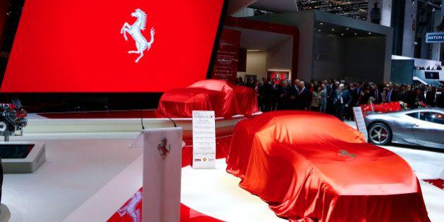 PHOTOS. Salon de l'auto 2014: Ferrari, Lamborghini, Mercedes... Ils sont tous