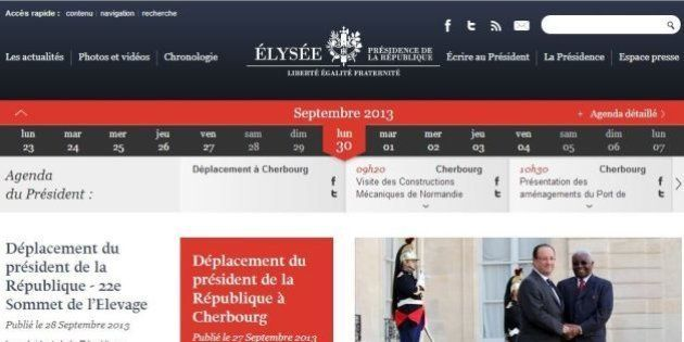 Un député UMP s'inquiète du code couleur du site de