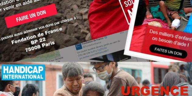 Séisme au Népal: où et comment faire un don pour venir en aide aux milliers de