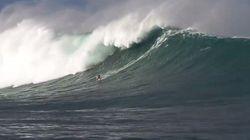 Une vague géante de 10 mètres de haut au Pays