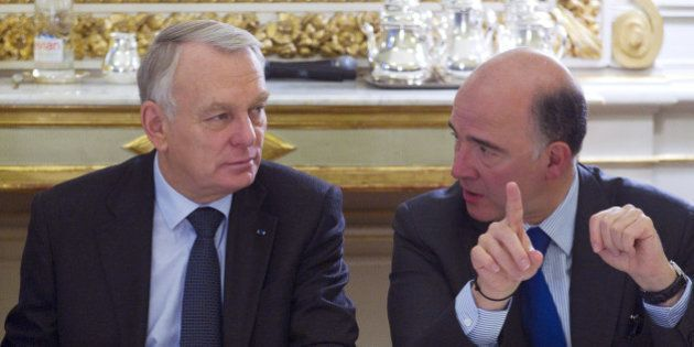 Ayrault et Moscovici en froid: