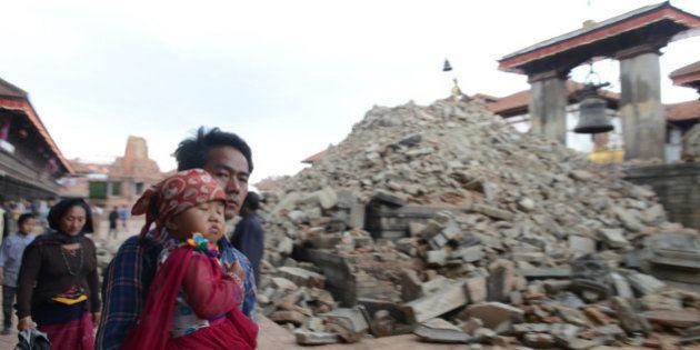 Népal: le bilan du séisme dépasse les 4300 morts, 8 millions de personnes