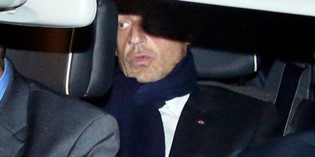 VIDÉOS. Comment Nicolas Sarkozy a réagi à sa mise en examen dans l'affaire