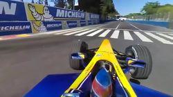 Avec la caméra à 360 degrés, vous allez regarder la Formule E comme