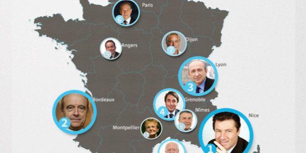 Les maires les plus influents sur Internet et les réseaux sociaux