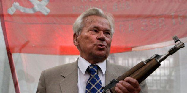 Mikhaïl Kalachnikov, l'inventeur de la Kalachnikov, est décédé à 94
