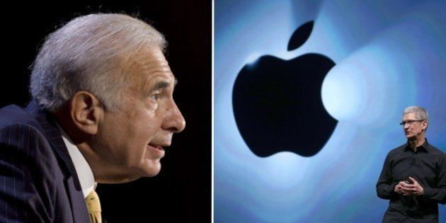 Apple: Carl Icahn défie Tim Cook pour le contrôle de