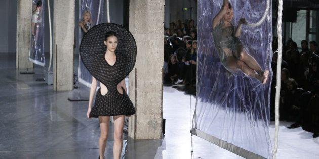 PHOTOS. Couture et impression 3D à la Fashion Week avec Iris Van
