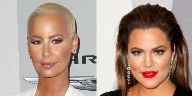 Amber Rose et Khloé Kardashian se clashent sur