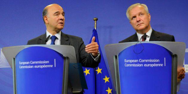 Dette et compétitivité: L'Europe met la France sous surveillance