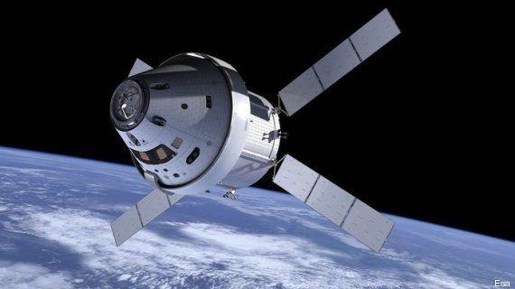 VIDÉOS. Voyage sur Mars: le vol d'essai de la capsule Orion, première étape avant des vols habités vers...