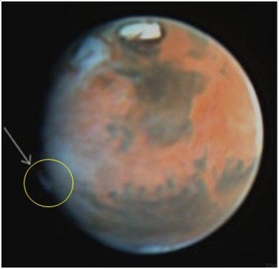 Mars: un nouveau mystère intrigue les scientifiques, qui tentent d'expliquer les fumées au dessus de...