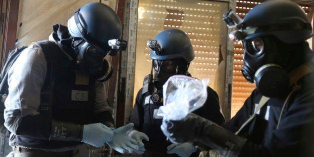 Armes chimiques en Syrie : les inspecteurs arrivent à Damas pour leur