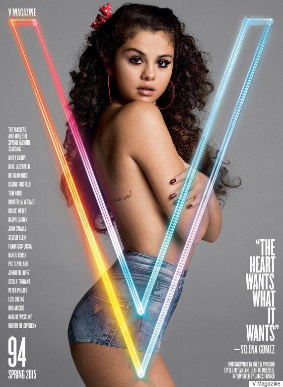 PHOTOS. Selena Gomez topless et interviewée par James Franco dans V