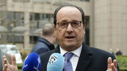 Hollande, retenu à Bruxelles, brille par son absence au dîner du