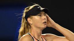 Sharapova positive à un test antidopage pendant l'Open