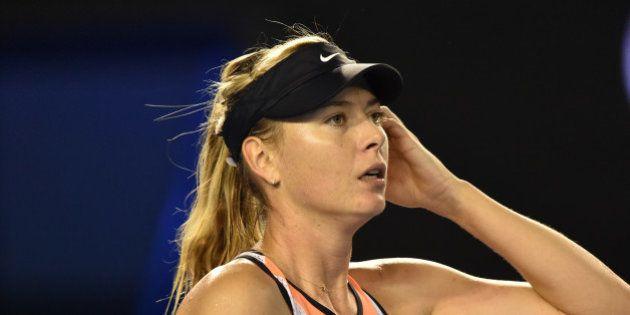Maria Sharapova contrôlée positive lors d'un test antidopage pendant l'Open