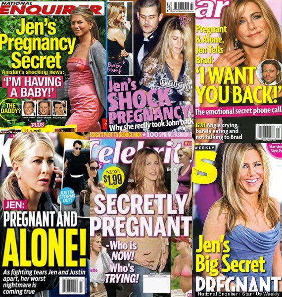 Jennifer Aniston enceinte? Une rumeur aussi fausse que