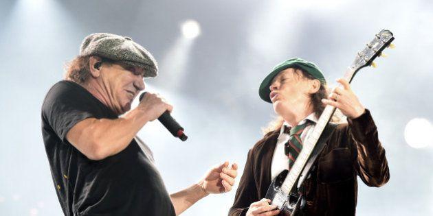 Le chanteur d'AC/DC arrête les concerts pour sauver son