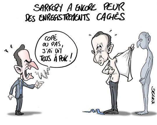 Enregistrement: Sarkozy sera-t-il plus prudent
