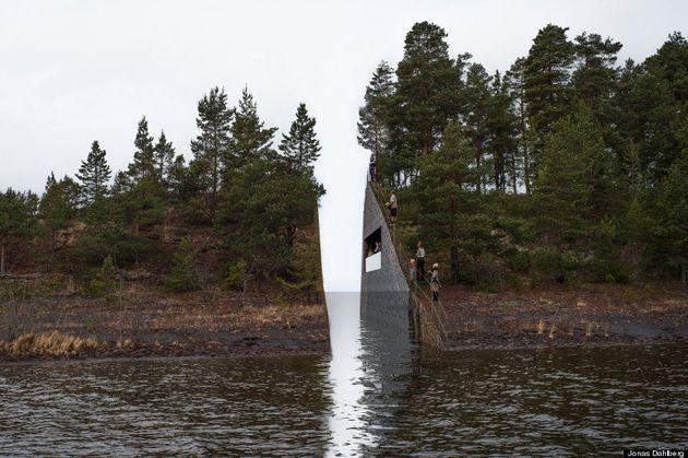 PHOTOS. Tuerie d'Utoya en Norvège : un mémorial pour les victimes du massacre de Breivik en