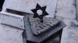 Cimetière juif profané: le