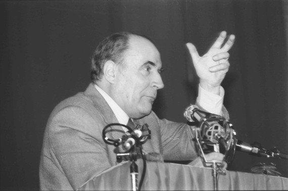 Lettre de François Mitterrand à Dayan: