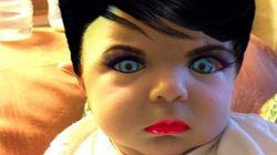 Elle relooke son bébé avec une appli de maquillage. Le résultat met un peu mal à