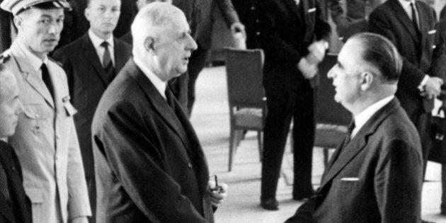 Motion de censure: Georges Pompidou, le seul premier ministre