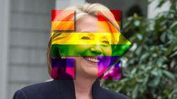 Hillary Clinton, soutien de toujours du mariage gay ? Loin de