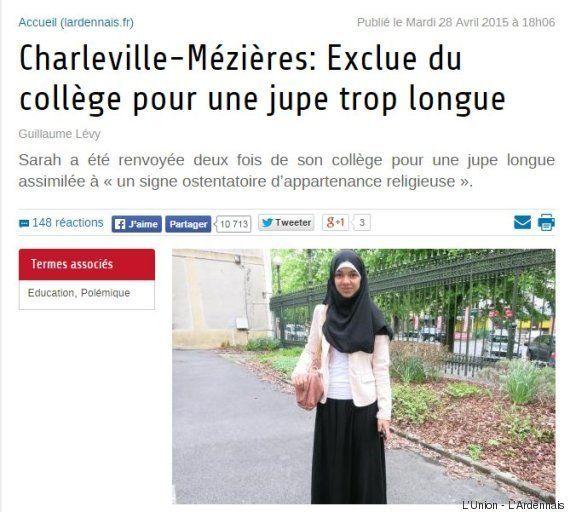 Laïcité à l'école: une collégienne interdite de cours à cause d'une jupe jugée comme un signe religieux
