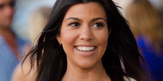 Kourtney Kardashian attends