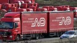 Les camions rouges du n°1 français des transports passent sous pavillon