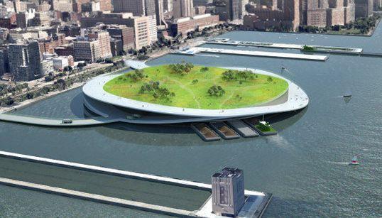 À New York, ces îles à compost pourraient résoudre le problème des