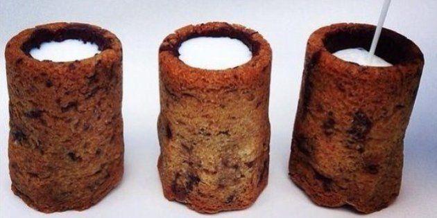 Le cookie shot de lait : la dernière création du chef pâtissier Français Dominique