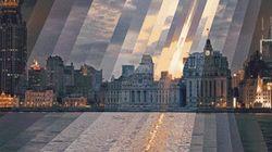 Ces magnifiques GIFs montrent des villes passer du jour à la